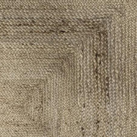 tapis jute naturel rectangulaire 120x170 atmosphera