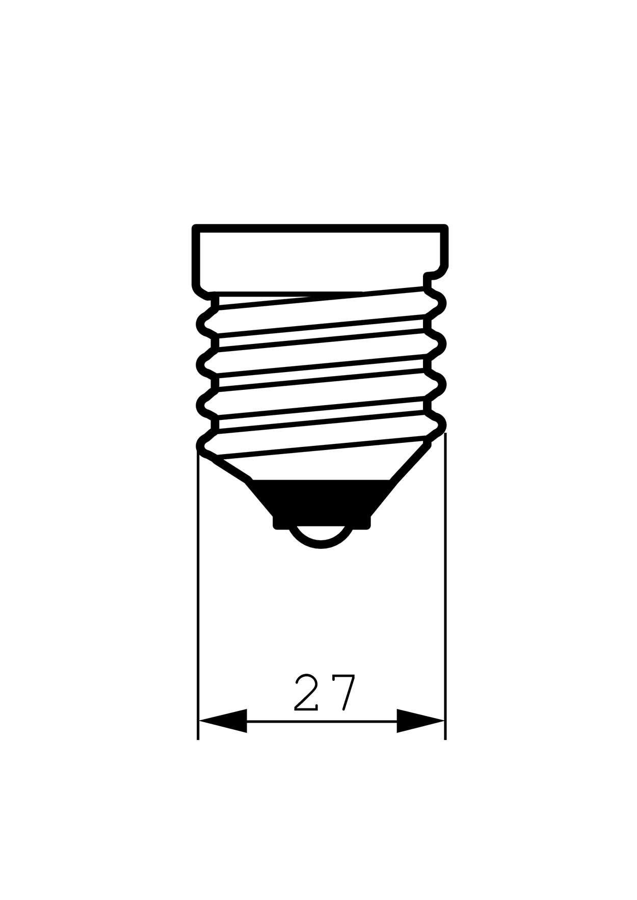 Philips Classic Ledbulb Nd 7 5 60w E27 827 St64 Cl