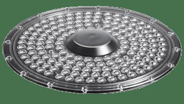 led optic for industrial led lighting