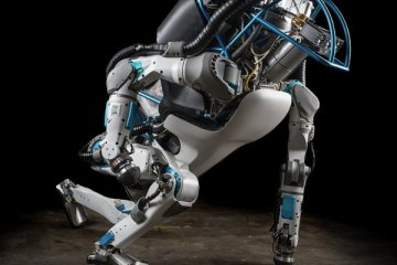 "Atlas, le robot humanoïde 'le plus dynamique du monde"", par Boston Dynamics"