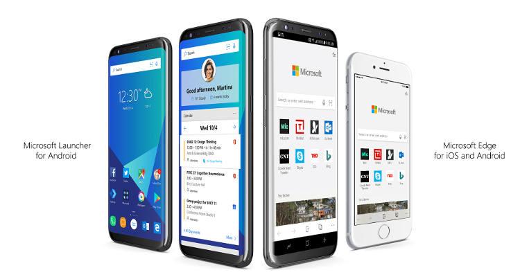 Microsoft Edge pour Android et pour iOS