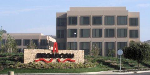 Siège de Broadcom à San Jose en Californie. Photo: Coolcaesar