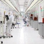 Intérieur de l'usine IM Flash, entreprise commune de Intel et de Micron