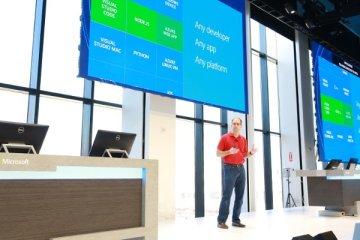 Scott Guthrie, discours inaugural de Connect(); la conférence annuelle pour développeurs de Microsoft