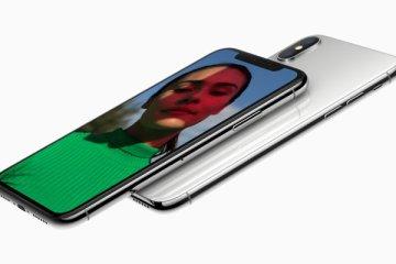 iPhone X. Photo: Apple