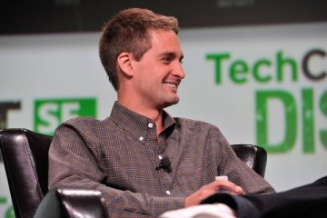 Evan Spiegel, CEO de Snap, TechCrunch 2013