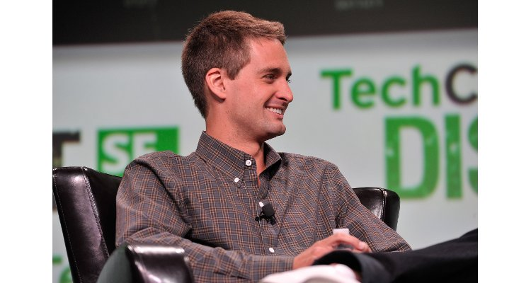 Evan Spiegel, CEO de Snap, TechCrunch 2013