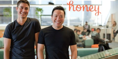 Ryan Hudson et George Ruan, fondateurs de Honey Science Corporation
