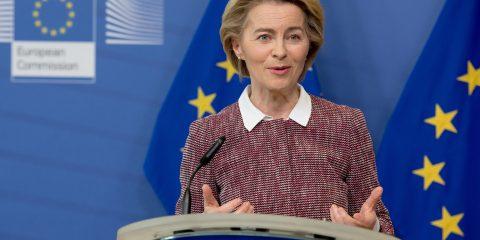 Déclaration d'Ursula von der Leyen, présidente de la Commission européenne, sur la nouvelle stratégie numérique