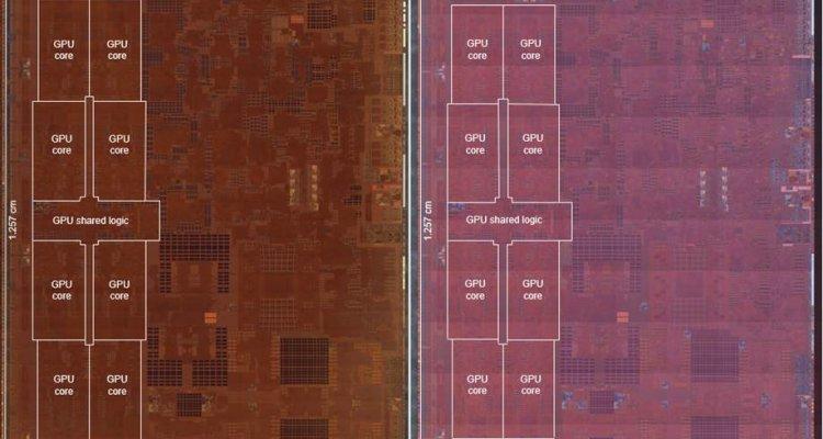 TechInsight: comparaison des processeurs A12X et A12Z d'Apple