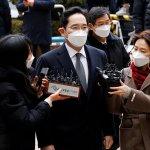 Jay. Y. Lee, héritier de Samsung, arrêté à Séoul le 18 janvier 2018 pour corruption