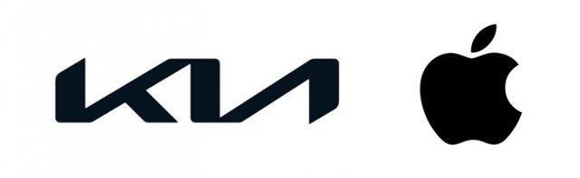 Logos Kia et Apple