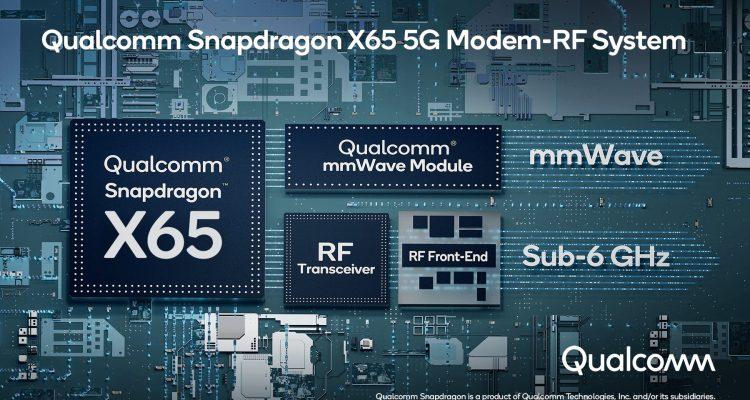 Modem 5G Qualcomm SnapDragon X65