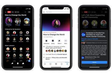 Facebook Live Audio Rooms
