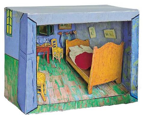 Mon Van Gogh En Carton Jeux Amp Peluches Le Dindon