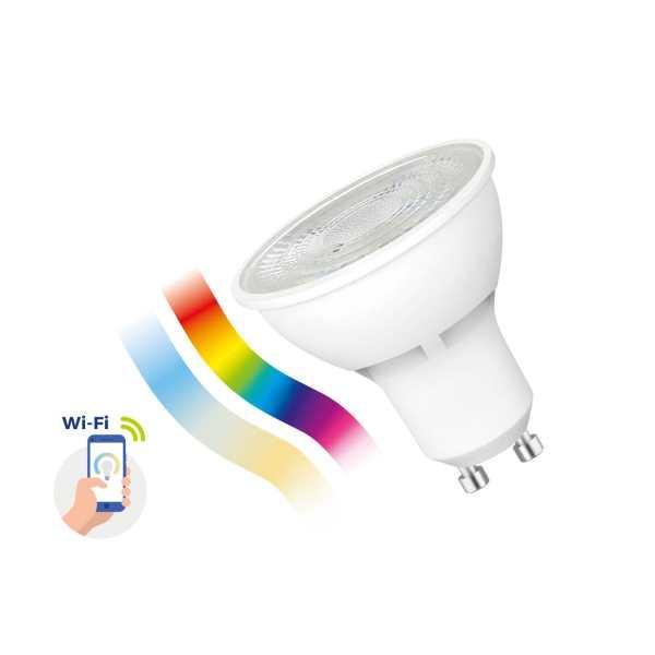 Spectrum Smart GU10 5W weiß + 16 Millionen Farben