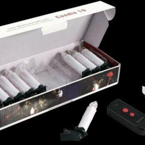 Funk RGB LED Kerzen mit Fernbedienung