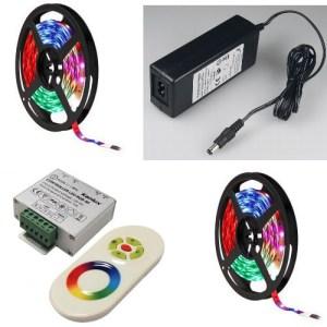 10M RGB LED Stripe mit Funk Controller