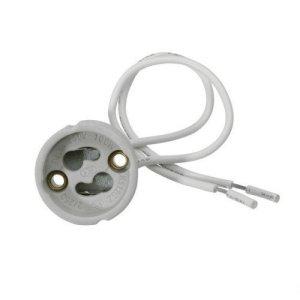 GU10 Fassung mit Kabel für 230V