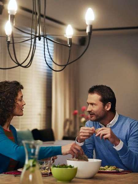 Philips® LED Kerze 4.3W für Kronleuchter