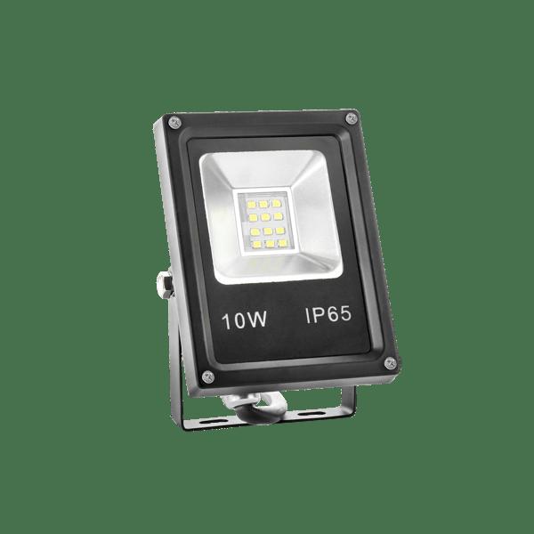 10W LED Fluter IP65 SLIM weiss / warmweiss