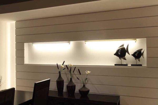 Doppelhalterung für 2x 120cm 1200mm LED Röhren