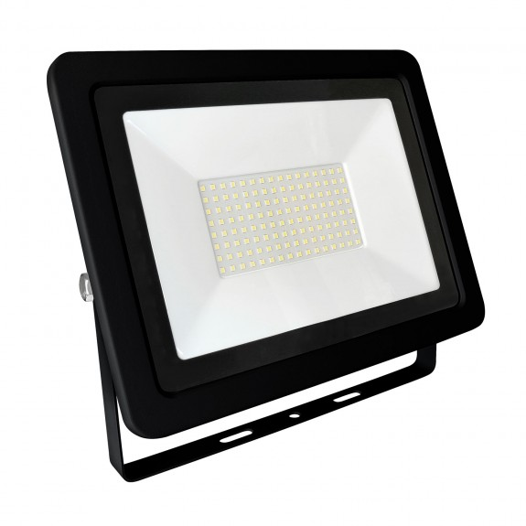 100W LED Fluter, Strahler Slim 6900 Lumen neutralweiß