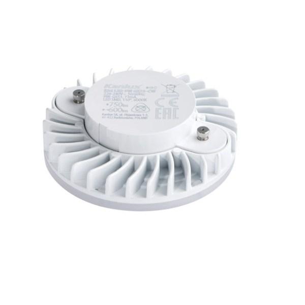 Flache GX53 LED Lampe 230V