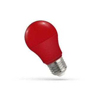 LED Leuchtmitte E27 5W rot