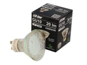 LED Strahler blau GU10 230V