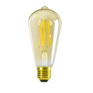 Retro LED Kugellampe E27 7W extra warmweiß