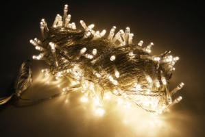 LED Lichterkette Innen & Aussen 400 LEDs warmweiss 40 Meter