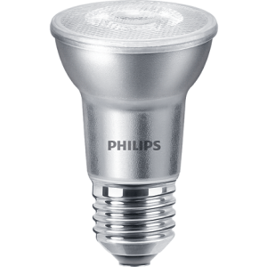 Philips Master 6W = 50W E27 PAR20 4000K dimmbar