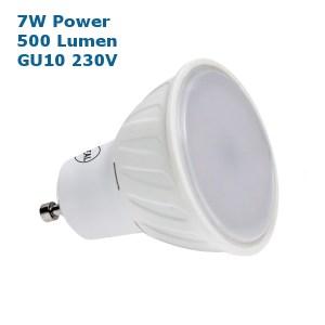 7W GU10 230V LED Strahler 500 Lumen sehr hell