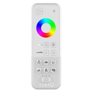 TINT RGB Fernbedienung, dimmbar, Farbwahl, Lichtgruppen, Lichtszenen