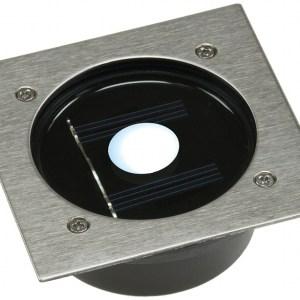 LED Bodeneinbaustrahler Solar IP44 befahrbar
