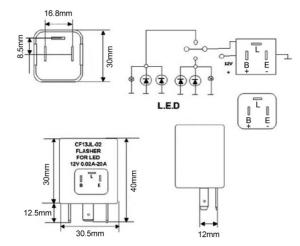 Napa Flasher Wiring Diagram | Wiring Library