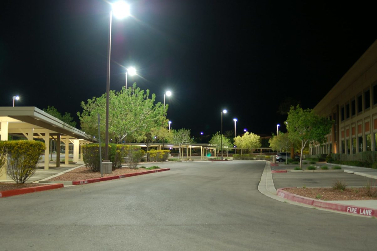 Parking Lots Led Light Amp Power