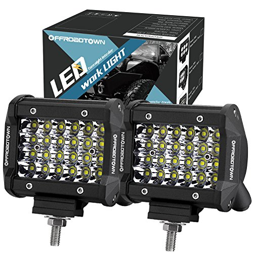 Led pods offroad town 4 144w quad row led light bar osram work led pods offroad town 4 144w quad row led light bar osram work light spot beam off road driving fog lights waterproof led cubes for truck jeep boat aloadofball Gallery