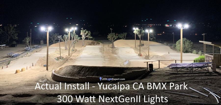 sport court lighting alternative led