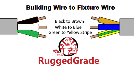 brown wire blue wire and green stripe wirewhat are these