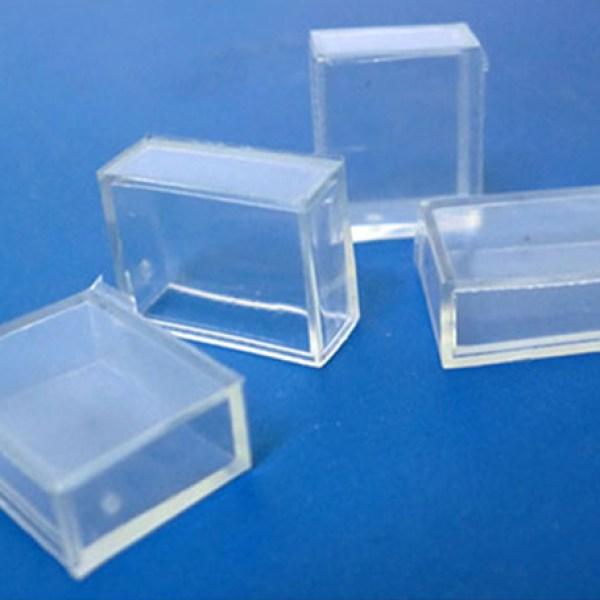 4 PZ Gommini Connettori PVC Per Chiusura Bobina Led 5050 Impermeabile Passo 10mm