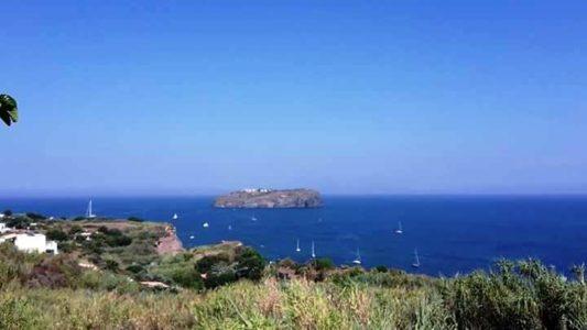 Panorama con vista sull'isola di Santo Stefano
