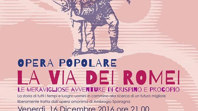 """Domus Mea e Musicantiere, ancora insieme lungo """"La via dei Romei""""."""