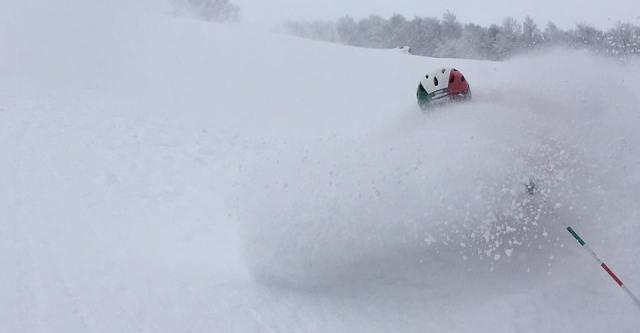 """Sciando con Giulio! Le bellissime immagini dal nostro """"inviato molto speciale"""" sulle nevi di Roccaraso (AQ)"""