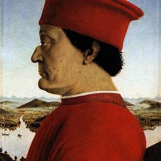 L'arte mecenate di se stessa nell'Umanesimo e Rinascimento Italiano: quando la politica usa l'arte per farsi più forte