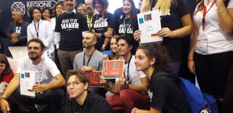 """E' """"Mal Leggo"""" il progetto n.1 del Maker Faire di Lazio Innova. UNA VITTORIA tutta da vivere!!"""