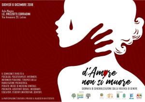 Violenza di genere - Giornata di sensibilizzazione: tutte le forze civili e religiose in convegno a Latina, giovedì 6 dicembre a ICT Corradini