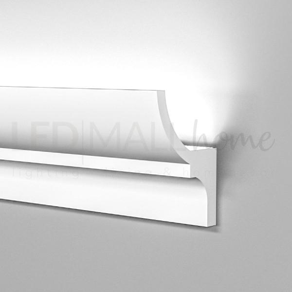 Un altro specialista per bellissime cornici di alluminio di alta qualità è il nostro partner di lunga durata nielsen. Profilo Cornice Strip Led Illuminazione Indiretta Soffusa Veletta A Soffitto Parete Incasso O Esterno Cartongesso Verniciabile Gekf701hd Profili Led In Gesso Polimeri