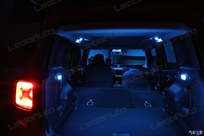 Blue Led Dome Lights